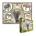 Eurographics -  The Elephant Jigsaw Puzzle 0628136602419