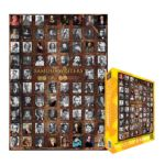 Eurographics -  Famous Writers Jigsaw Puzzle 0628136602495