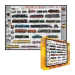 Eurographics -  Inc History Of Trains Ages 12 And Up 0628136602518
