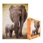 Eurographics -  Elephant And Baby Jigsaw Puzzle 0628136602709