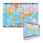 Eurographics -  World Map Jigsaw Puzzle For Kids 0628136602716