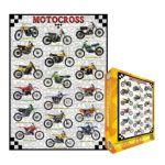 Eurographics -  Motocross Jigsaw Puzzle 0628136610209
