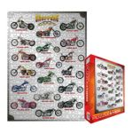 Eurographics -  Choppers Jigsaw Puzzle 0628136610216