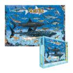 Eurographics -  Sharks Jigsaw Puzzle For Kids 0628136610797