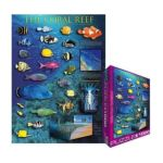 Eurographics -  The Coral Reef Jigsaw Puzzle 0628136611701