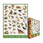 Eurographics -  Birds Of Fields And Gardens Jigsaw Puzzle 0628136612593
