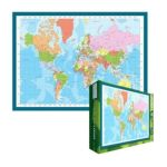 Eurographics -  Modern Map Of The World Jigsaw Puzzle 0628136612715