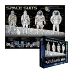 Eurographics -  Space Suits Jigsaw Puzzle 0628136613897