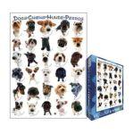 Eurographics -  Classic Dog Breeds Jigsaw Puzzle 0628136615105