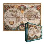 Eurographics -  Orbis Geographica Ac Hydrographica Jigsaw Puzzle 0628136619974
