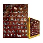 Eurographics -  Famous Scientists Jigsaw Puzzle 0628136620000