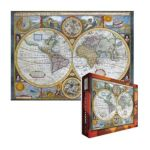 Eurographics -  A New And Accurate Map Of The World Jigsaw Puzzle 0628136620062