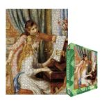 Eurographics -  Two Girls At The Piano Jigsaw Puzzle 0628136622158