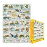 Eurographics -  Snakes Jigsaw Puzzle 0628136626101