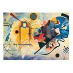 Eurographics -  Gelb Rot Blau Wassily Kandinsky Jigsaw Puzzle 0628136632713