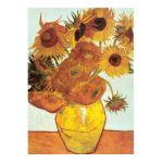 Eurographics -  Twelve Sunflowers Vincent Van Gogh Jigsaw Puzzle 0628136636889