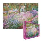 Eurographics -  The Artist S Garden In Giverny Jigsaw Puzzle 0628136649087