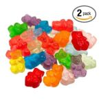 Albanese confectionery -  Flavor Assorted Gummi Bears Fat Free Bags 5 lb 0634418512000
