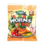 Albanese confectionery -  Gummi Fuity Worms Bags 0634418522023