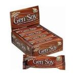 Genisoy -  Soy Protein Bar Ultimate Chocolate Fudge Brownie 0635992041207