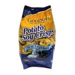 Genisoy -  Potato Soy Crisps Sea Salt & Black Pepper 0635992053323