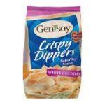 Genisoy -  Soy Snacks Baked White Cheddar 0635992083108