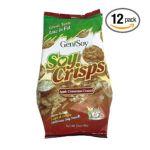 Genisoy -  Soy Crisps Apple Cinnamon Crunch Bags 0635992944607