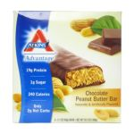 Atkins -  Advantage Bar Chocolate Peanut Butter 0637480025027