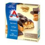 Atkins -  Caramel Chocolate Peanut Nougat Bar 0637480035019