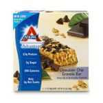 Atkins - Advantage Bar Chocolate Chip Granola 5 bars 0637480045063  / UPC 637480045063