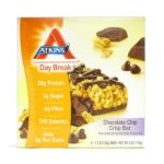 Atkins - Day Break Crisp Bar Chocolate Chip Crisp 5 bars 0637480055031  / UPC 637480055031