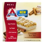 Atkins - Advantage Cinnamon Bun Bar 0637480059251  / UPC 637480059251