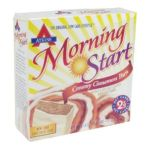 Atkins -  Morning Start Breakfast Bars Creamy Coated Cinnamon Bun 0637480307819