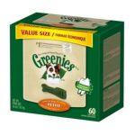Greenies -  Dental Chews Value Size Tub Petite 0642863101021