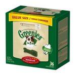 Greenies -  Dental Chews Value Size Tub Regular 0642863101045