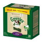 Greenies -  Dental Chews Value Size Tub Large 0642863101069