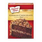 Duncan Hines -  Signature German Chocolate Cake Mix Boxes 0644209411603