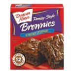 Duncan Hines -  Snack Size Chewy Fudge Brownie Mix 0644209414307