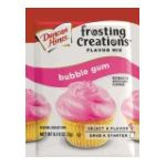 Duncan Hines -  Frosting Creations Flavor Mix Bubble Gum 1 Packet 0.1 0644209424016