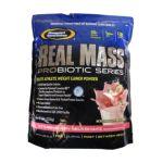 Gaspari -  Real Mass Strawberry Milkshake Powder 5.95 lb, 5.95 lb powder 0646511009134