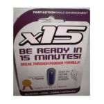 Action Labs - X 15 Powder In Capsules Fast Acting Male Enhancement 0654367588789  / UPC 654367588789