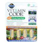 Garden of Life -  Vitamin Code Whole Food Multi Free Sample 0658010116251