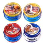 Au'some Candies -  Marvel Superheroes Sweet Spin Yo Yo Novelty Bubblegum Toys 0660973220302