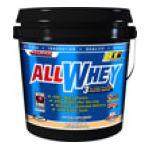 Allmax nutrition - Allwhey 3 Stage Whey Protein Matrix Vanilla 5 lb 0665553121260  / UPC 665553121260