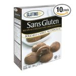 Glutino -  Chocolate Cookies With Chocolate Cream 0678523070215