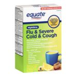 Equate -  Flu & Severe Cold & Cough Nighttime Pain Reliever Fever Reducer 0681131001847