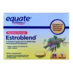 Equate -  Estroblend Maximum Strength Compare To Estroven Maximum Strength 0681131023979