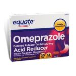 Equate -  Equate Omeprazole Acid Reducer Delayed-release 20 mg,14 count 0681131024150