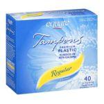 Equate -  Premium Plastic Applicator Regular Tampons 0681131107617