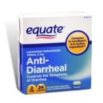 Equate -  Anti-diarrheal Loperamide Compare To Imodium A-d 2 mg 0681131184038